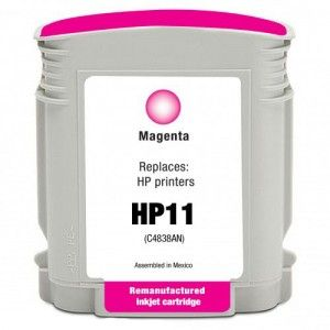 CARTUCHO REMANUF.  Nº 11 MAGENTA (34 ML)