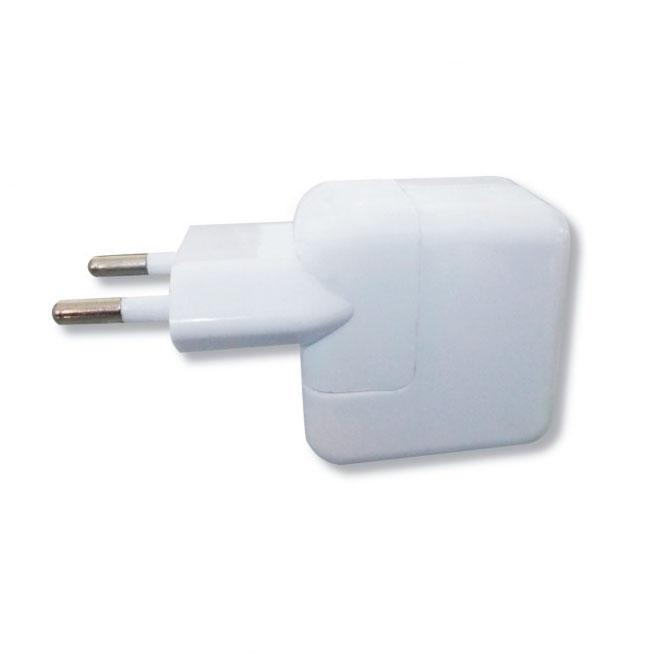 CARGADOR USB MTK A RED ELECTRICA 2.1A WHITE
